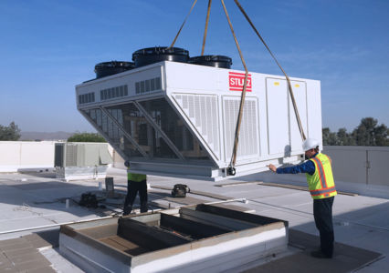 Packaged Rooftop Air Handling Unit
